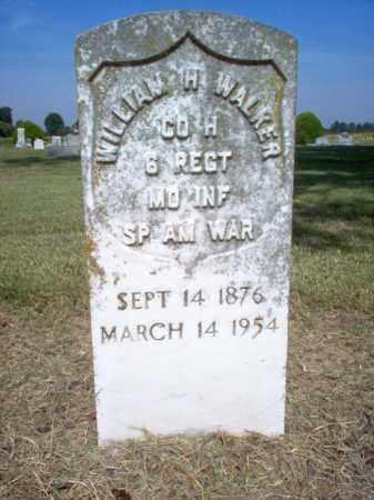 WALKER (VETERAN SAW), WILLIAM H - Cross County, Arkansas   WILLIAM H WALKER (VETERAN SAW) - Arkansas Gravestone Photos