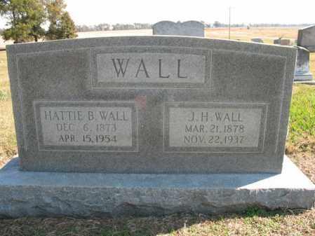 WALL, HATTIE B - Cross County, Arkansas | HATTIE B WALL - Arkansas Gravestone Photos