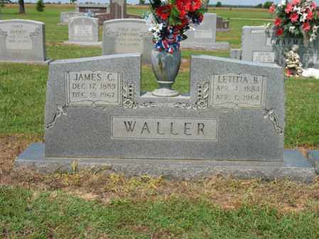 WALLER, JAMES C - Cross County, Arkansas | JAMES C WALLER - Arkansas Gravestone Photos