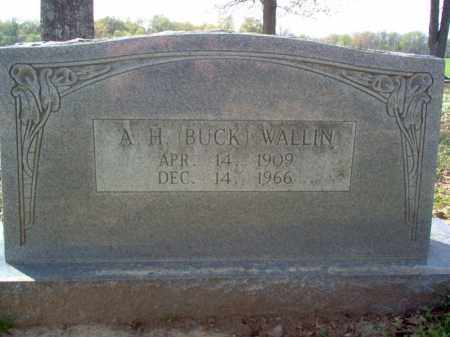 "WALLIN, A H ""BUCK"" - Cross County, Arkansas 