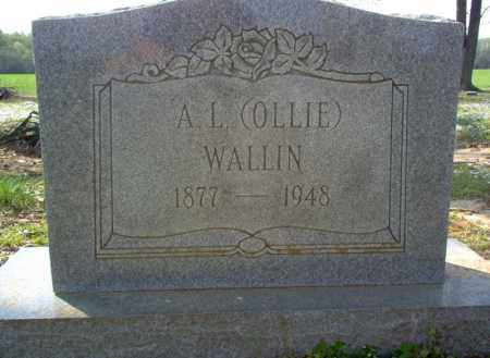 "WALLIN, A L ""OLLIE"" - Cross County, Arkansas 