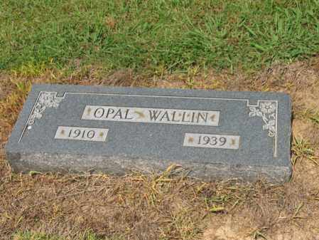 WALLIN, OPAL - Cross County, Arkansas | OPAL WALLIN - Arkansas Gravestone Photos