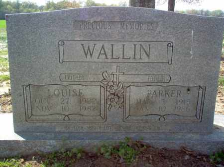 WALLIN, PARKER - Cross County, Arkansas | PARKER WALLIN - Arkansas Gravestone Photos