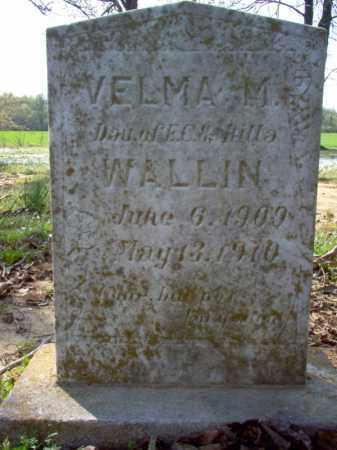 WALLIN, VELMA M - Cross County, Arkansas | VELMA M WALLIN - Arkansas Gravestone Photos