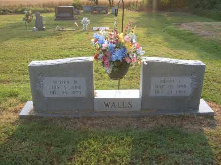 WALLS, ARTHUR M - Cross County, Arkansas   ARTHUR M WALLS - Arkansas Gravestone Photos