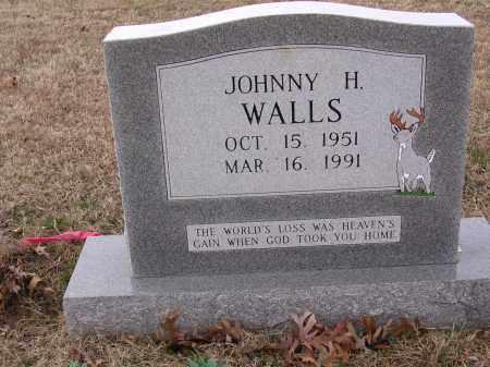 WALLS, JOHNNY H - Cross County, Arkansas | JOHNNY H WALLS - Arkansas Gravestone Photos