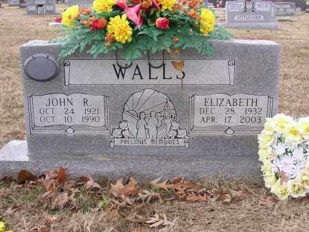 WALLS, ELIZABETH - Cross County, Arkansas | ELIZABETH WALLS - Arkansas Gravestone Photos