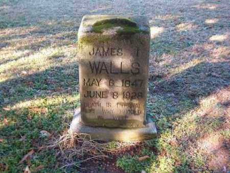 WALLS, JAMES I. - Cross County, Arkansas   JAMES I. WALLS - Arkansas Gravestone Photos