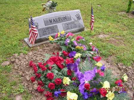 WALTON, CLARENCE - Cross County, Arkansas   CLARENCE WALTON - Arkansas Gravestone Photos