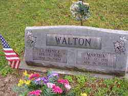 WALTON, MARTHA - Cross County, Arkansas | MARTHA WALTON - Arkansas Gravestone Photos