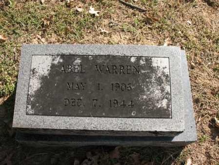 WARREN, ABEL - Cross County, Arkansas | ABEL WARREN - Arkansas Gravestone Photos