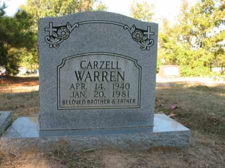 WARREN, CARZELL - Cross County, Arkansas | CARZELL WARREN - Arkansas Gravestone Photos