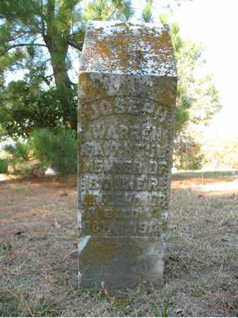 WARREN, JOSEPH - Cross County, Arkansas | JOSEPH WARREN - Arkansas Gravestone Photos