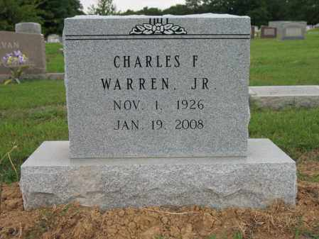 WARREN, JR., CHARLES FLETCHER - Cross County, Arkansas | CHARLES FLETCHER WARREN, JR. - Arkansas Gravestone Photos