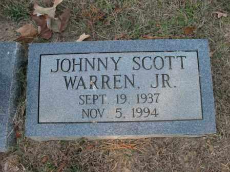 WARREN, JR., JOHNNY SCOTT - Cross County, Arkansas | JOHNNY SCOTT WARREN, JR. - Arkansas Gravestone Photos