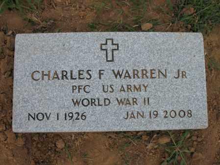 WARREN, JR (VETERAN WWII), CHARLES FLETCHER - Cross County, Arkansas | CHARLES FLETCHER WARREN, JR (VETERAN WWII) - Arkansas Gravestone Photos