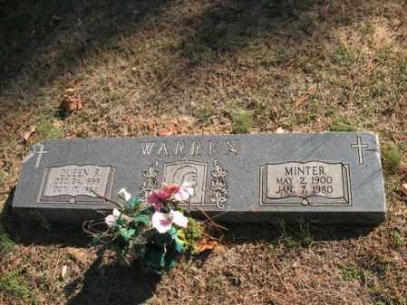 WARREN, MINTER - Cross County, Arkansas | MINTER WARREN - Arkansas Gravestone Photos