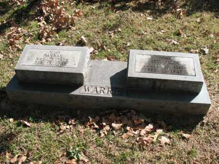 WARREN, REV, JACOB - Cross County, Arkansas | JACOB WARREN, REV - Arkansas Gravestone Photos