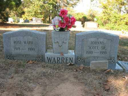 WARREN, SR., JOHNNY SCOTT - Cross County, Arkansas | JOHNNY SCOTT WARREN, SR. - Arkansas Gravestone Photos