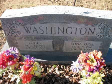 WASHINGTON, EDNA OPAL - Cross County, Arkansas | EDNA OPAL WASHINGTON - Arkansas Gravestone Photos