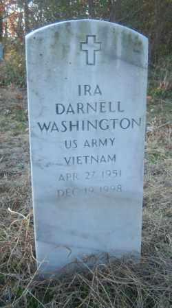 WASHINGTON (VETERAN VIET), IRA DARNELL - Cross County, Arkansas | IRA DARNELL WASHINGTON (VETERAN VIET) - Arkansas Gravestone Photos