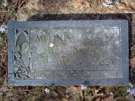 WATLINGTON, MELINDA MAXINE - Cross County, Arkansas   MELINDA MAXINE WATLINGTON - Arkansas Gravestone Photos