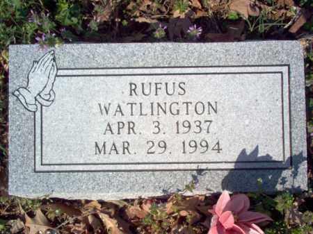 WATLINGTON, RUFUS - Cross County, Arkansas   RUFUS WATLINGTON - Arkansas Gravestone Photos