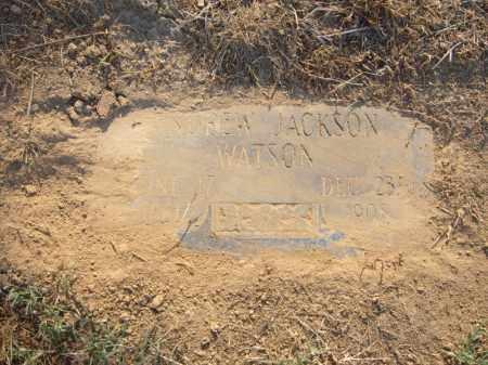 WATSON, ANDREW JACKSON - Cross County, Arkansas | ANDREW JACKSON WATSON - Arkansas Gravestone Photos
