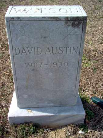 WATSON, DAVID AUSTIN - Cross County, Arkansas | DAVID AUSTIN WATSON - Arkansas Gravestone Photos