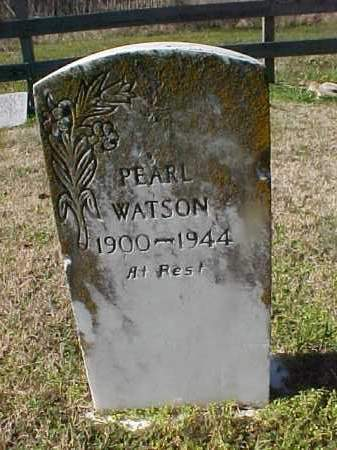 WATSON, PEARL - Cross County, Arkansas | PEARL WATSON - Arkansas Gravestone Photos