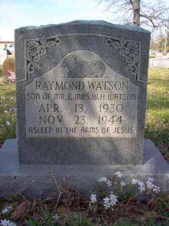 WATSON, RAYMOND - Cross County, Arkansas | RAYMOND WATSON - Arkansas Gravestone Photos