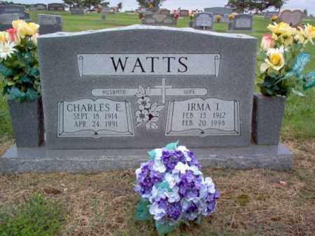 WATTS, CHARLES E - Cross County, Arkansas | CHARLES E WATTS - Arkansas Gravestone Photos