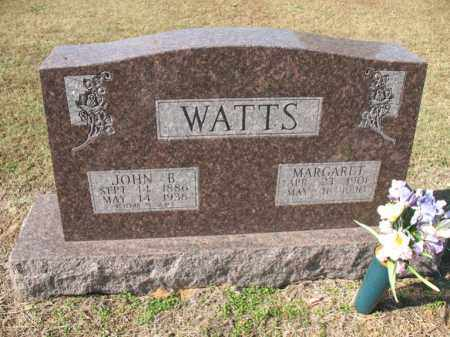 WATTS, JOHN B - Cross County, Arkansas | JOHN B WATTS - Arkansas Gravestone Photos
