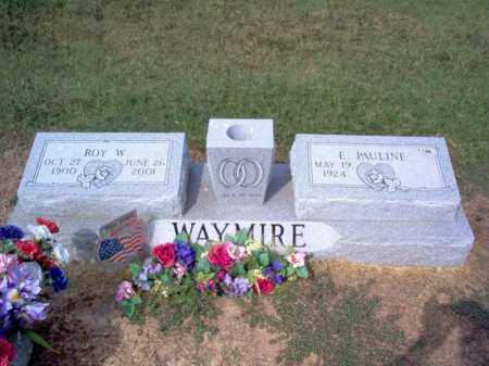 WAYMIRE, ROY W - Cross County, Arkansas | ROY W WAYMIRE - Arkansas Gravestone Photos