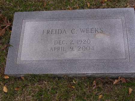 WEEKS, FREIDA C - Cross County, Arkansas | FREIDA C WEEKS - Arkansas Gravestone Photos