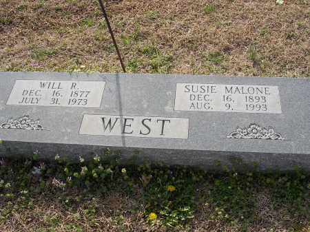 WEST, WILL R - Cross County, Arkansas | WILL R WEST - Arkansas Gravestone Photos