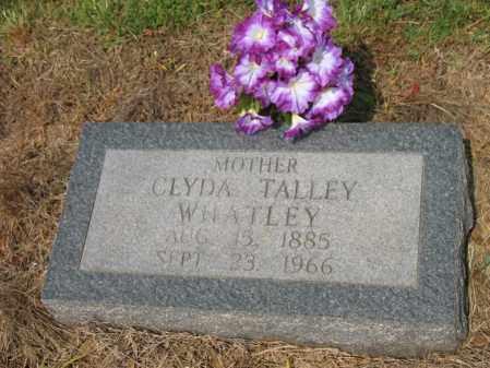 WHATLEY, CLYDA - Cross County, Arkansas | CLYDA WHATLEY - Arkansas Gravestone Photos