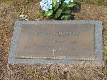 WHATLEY (VETERAN), OSCAR - Cross County, Arkansas   OSCAR WHATLEY (VETERAN) - Arkansas Gravestone Photos