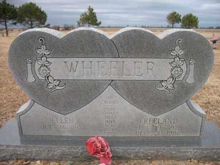 WHEELER, FREELAND - Cross County, Arkansas | FREELAND WHEELER - Arkansas Gravestone Photos