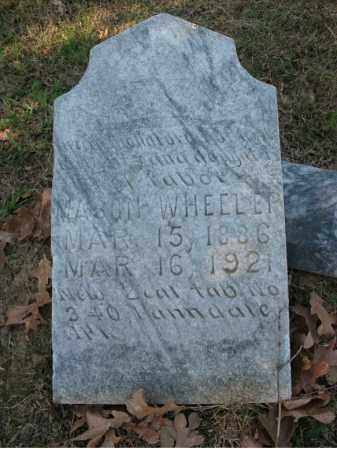 WHEELUP, MASON - Cross County, Arkansas | MASON WHEELUP - Arkansas Gravestone Photos