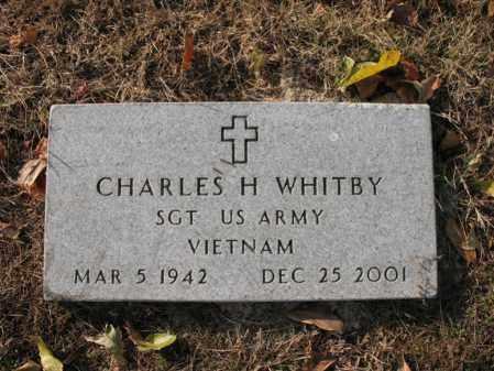 WHITBY (VETERAN VIET), CHARLES HUBERT - Cross County, Arkansas   CHARLES HUBERT WHITBY (VETERAN VIET) - Arkansas Gravestone Photos