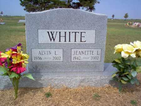 WHITE, JEANETTE L - Cross County, Arkansas   JEANETTE L WHITE - Arkansas Gravestone Photos