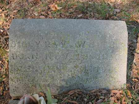 WHITE, BILLY RAY - Cross County, Arkansas | BILLY RAY WHITE - Arkansas Gravestone Photos