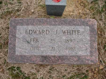 WHITE, EDWARD J - Cross County, Arkansas | EDWARD J WHITE - Arkansas Gravestone Photos
