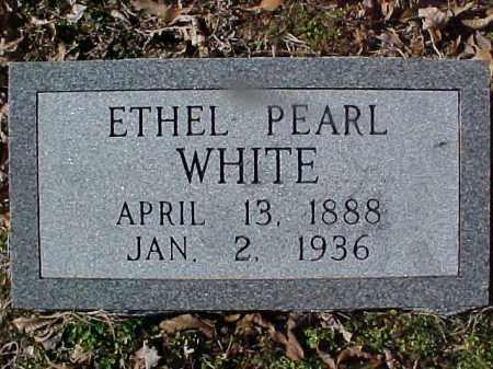WHITE, ETHEL PEARL - Cross County, Arkansas | ETHEL PEARL WHITE - Arkansas Gravestone Photos
