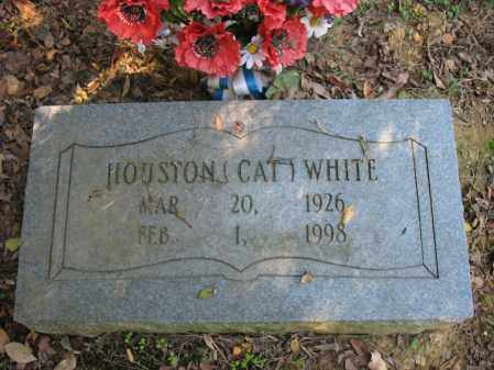 """WHITE, HOUSTON """"CAT"""" - Cross County, Arkansas   HOUSTON """"CAT"""" WHITE - Arkansas Gravestone Photos"""