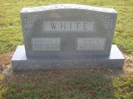 WHITE, JOHN R - Cross County, Arkansas | JOHN R WHITE - Arkansas Gravestone Photos