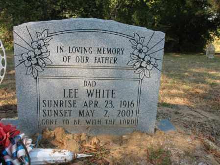 WHITE, LEE - Cross County, Arkansas   LEE WHITE - Arkansas Gravestone Photos