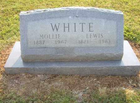 WHITE, MOLLIE - Cross County, Arkansas | MOLLIE WHITE - Arkansas Gravestone Photos