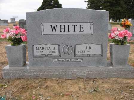 WHITE, MARITA - Cross County, Arkansas | MARITA WHITE - Arkansas Gravestone Photos
